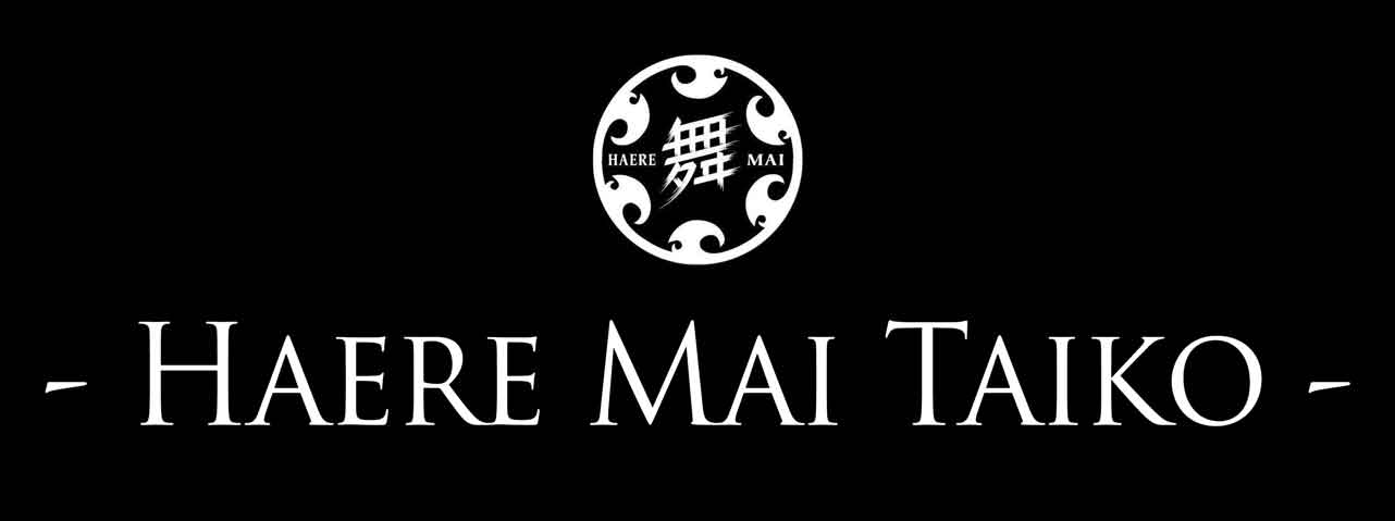 We are Haere Mai Taiko, an enthusiastic and authentic taiko drumming group from Auckland, New Zealand